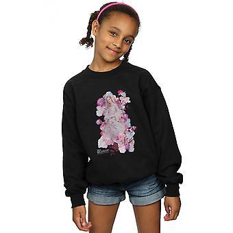 Disney Girls Maleficent Mistress Of Evil Aurora Rose Bush Sweatshirt