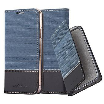 Cadorabo Hülle für Apple iPhone XS MAX Case Cover - Handyhülle mit Magnetverschluss, Standfunktion und Kartenfach – Case Cover Schutzhülle Etui Tasche Book Klapp Style