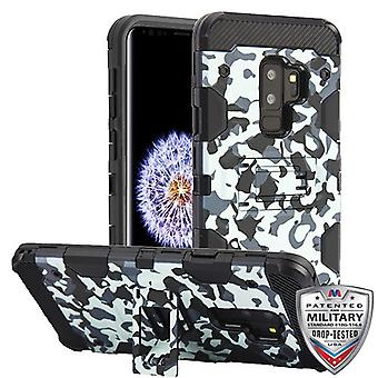 MYBAT Urban Camouflage/Black Storm Tank Hybrid Case for Galaxy S9 Plus