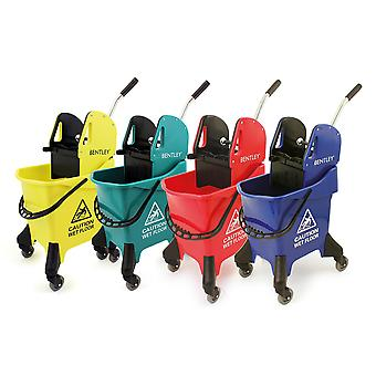 Charles Bentley Heavy Duty Kentucky Mop Bucket mit Wringer Wheels Portable in Various Colours-31 L