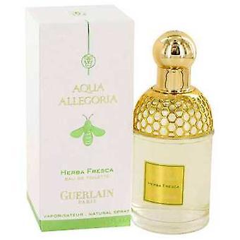 Aqua Allegoria Herba Fresca von Guerlain Eau De Toilette Spray (unisex) 2.5 Oz (Frauen) V728-416960