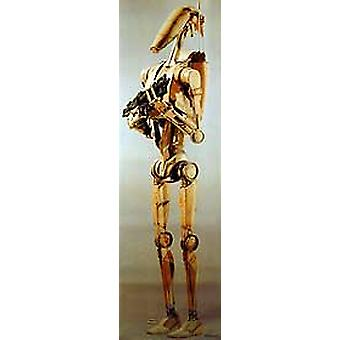 Star Wars Episode 1 (Single Sided Battle Droid) (Lifesize) Original Cinema Poster