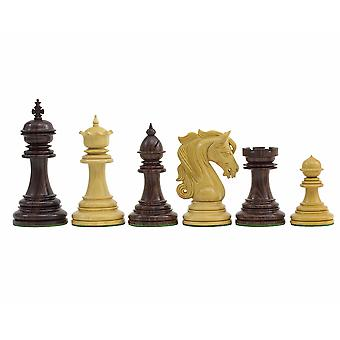 The Kingsgate Rosewood Chessmen 4.25 inch