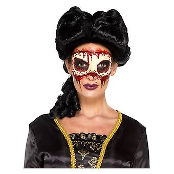 Womens Maskerade-Face Off prothetische Fancy Dress Zubehör