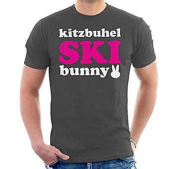 Kitzbuhel ski Bunny mannen ' s T-shirt