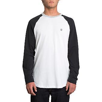Volcom pen lange mouwen T-shirt in zwart