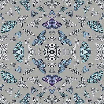 Fantasia glitter bug wallpaper prata Arthouse 692307