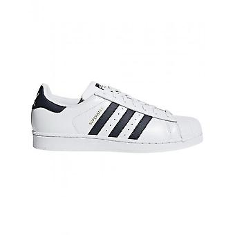 Adidas - Scarpe - Sneakers - CM8082_Superstar - Unisex - bianco, blu scuro - 4.5