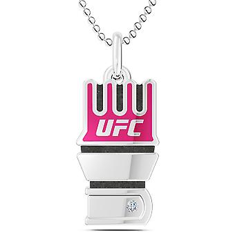UFC قلادة في الفضة الإسترليني تصميم من قبل بيكسلر