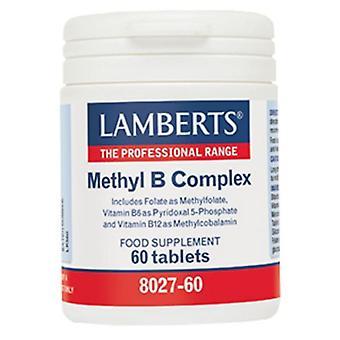 لامبرتس ميثيل B-معقدة أقراص 60 (8027-60)