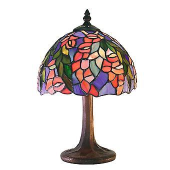 Tiffany-style Floral Table Lamp