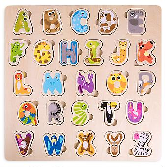 Professor Poplar's Animal Alphabet Puzzle