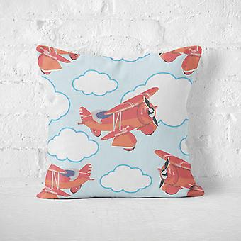 Meesoz Cushion Cover - Red Plane I