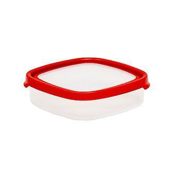 Wham opslag 7,01 Seal it 1,02 liter ondiep vierkant luchtdicht plastic voedsel doos