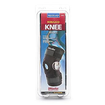 Mueller sport care hinged knee brace, regular, one size, black, 1 ea