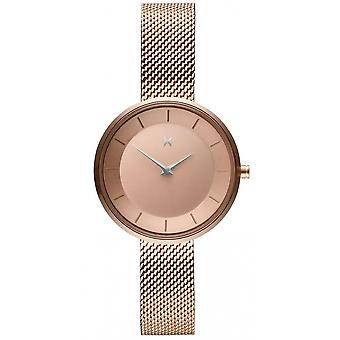 MVMT D-FB01-RGS Watch - Milanese Gold Rose Women's Watch
