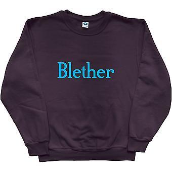 Blether Black Sweatshirt