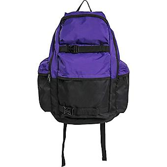 Urban Classics Backpack Colourblocking Zaino Casual - 43 cm - 18 -4 liters - Multicolore (ultravilolet/black)