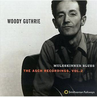 Woody Guthrie - Woody Guthrie: Vol. 2-Muleskinner Blues [CD] USA import