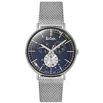 Shows Lee Cooper-LC06380-390 - Milanese man blue dial Steel Bracelet