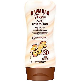 هاواي الاستوائية الحرير ترطيب محلول واقية من الشمس