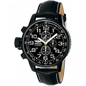 Invicta Mens que je force montres chronographe 3332
