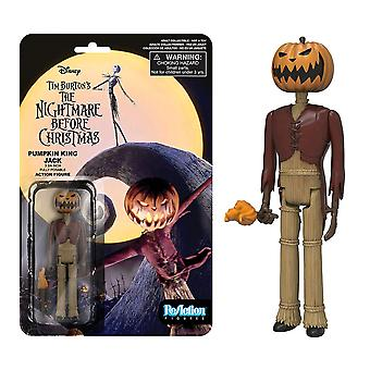 The Nightmare Before Xmas Jack Pumpkin King ReAction Figure