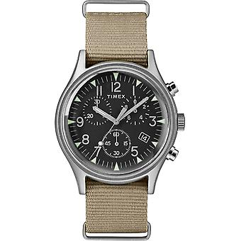 Timex MK1 Chrono Nylon Indiglo Mens Watch TW2T10700