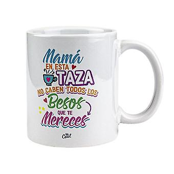 Mug with Spanish declaration of love