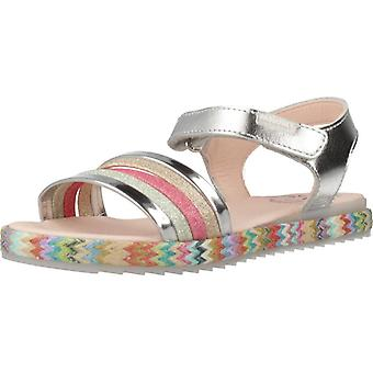 Pablosky Sandals 482250 Silver Color