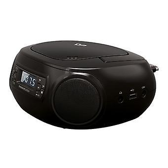 Radio CD Bluetooth MP3 Energy Sistem Boombox 3 2W Noir