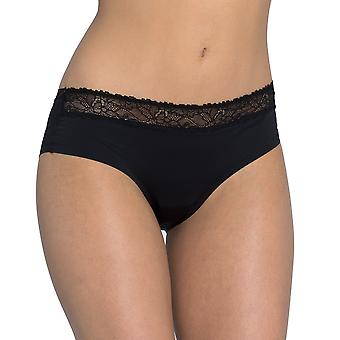 Sloggi women's wow lace hipster brief black