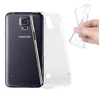 Stuff Certified® 2-Pack Transparent Clear Silicone Case Cover TPU Case Samsung Galaxy S5
