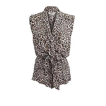 Oneteaspoon 22866stoneleopard Frauen's Leopard Baumwolle Jumpsuit