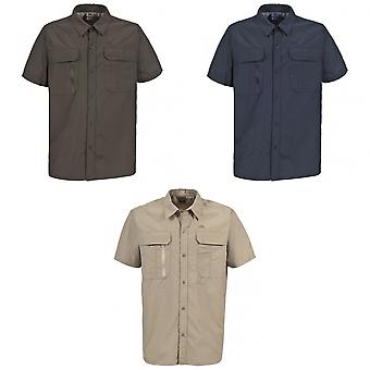 Trespass Mens Colly Short Sleeve Quick Dry Shirt