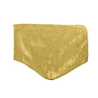 Changing Sofas Chartreuse Crushed Velvet Back Seat Cover for Chair, Sofa, or Armchair