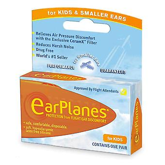 Earplanes children's ear plugs, disposable, 1 pair