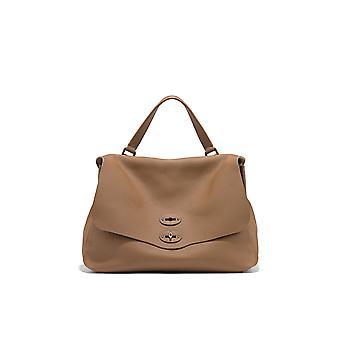 Zanellato 6802p6c3 Women's Brown Leather Handbag
