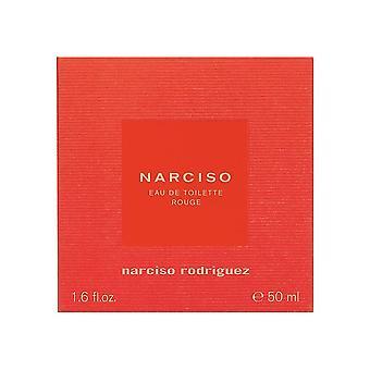 Narciso Rodriguez Rouge Eau de Toilette Spray 50ml