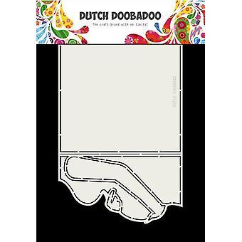 Niederländische Doobadoo Karte Kunst schwanger 250 x 160mm 470.713.712