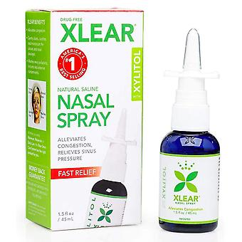Spray nasale naturale xlear, 1,5 oz