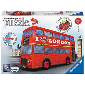 Ravensburger London Bus 216pc 3D Puzzle