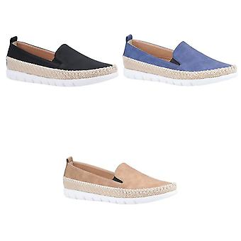 Divaz Mujeres/Señoras Kendall Slip On Nubuck Summer Shoe