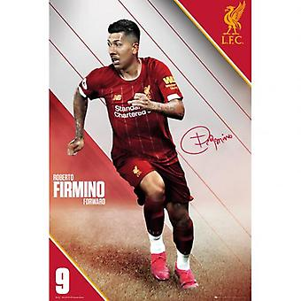 Liverpool Poster Firmino 17