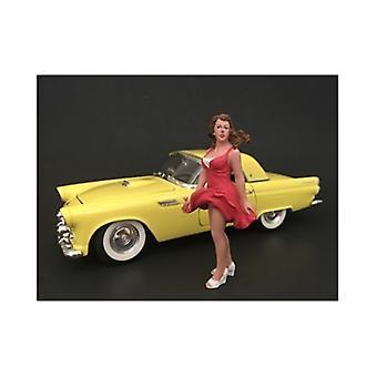 70's Style Figur VIII Für 1:18 Maßstabsmodelle von American Diorama