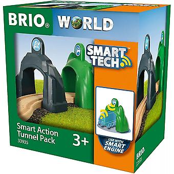 Brio 33935  Wooden Railway - Smart Tech Action Tunnel Pack
