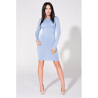 Blå tessita klänningar