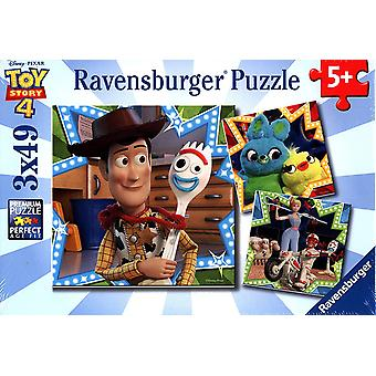 Ravensburger Disney Pixar Toy Story 4, 3X 49pc Jigsaw Puzzles