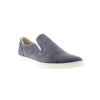 Onitsuka Tiger Tiger Slip On Deluxe Mens Gray Suede Lifestyle Sneakers Shoes