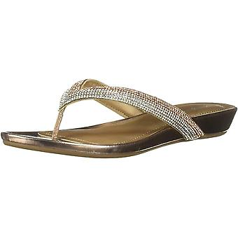 Kenneth Cole REACTION Women's Frost Jewel Thong Sandal Flat